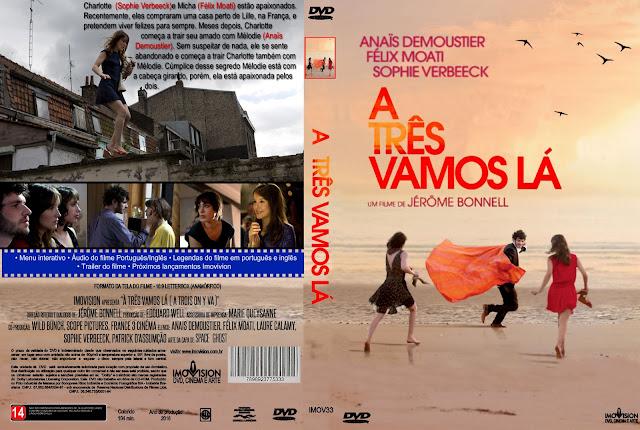 Capa DVD A Três Vamos Lá