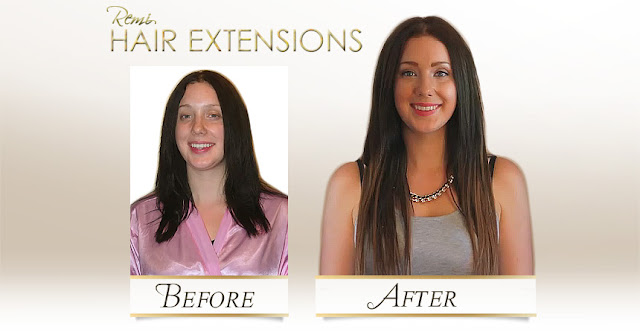 20 Inch Light Brown & Medium Brown Micro Bead Hair Extensions