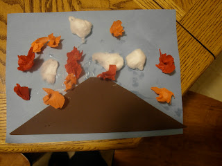 volcano craft ideas contentedly crunchy volcano craft with bean 3194