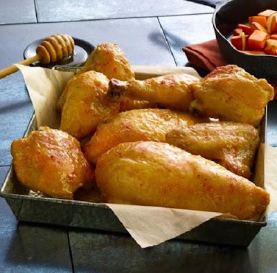 mustard-honey baked chicken