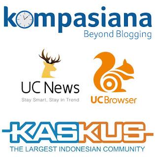 pengalaman menulis di UC, Kompasiana, Kaskus