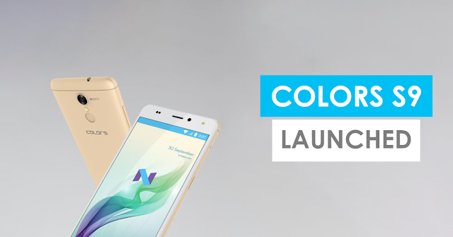 Colors S9 Official Firmware Stock Rom | Flash file