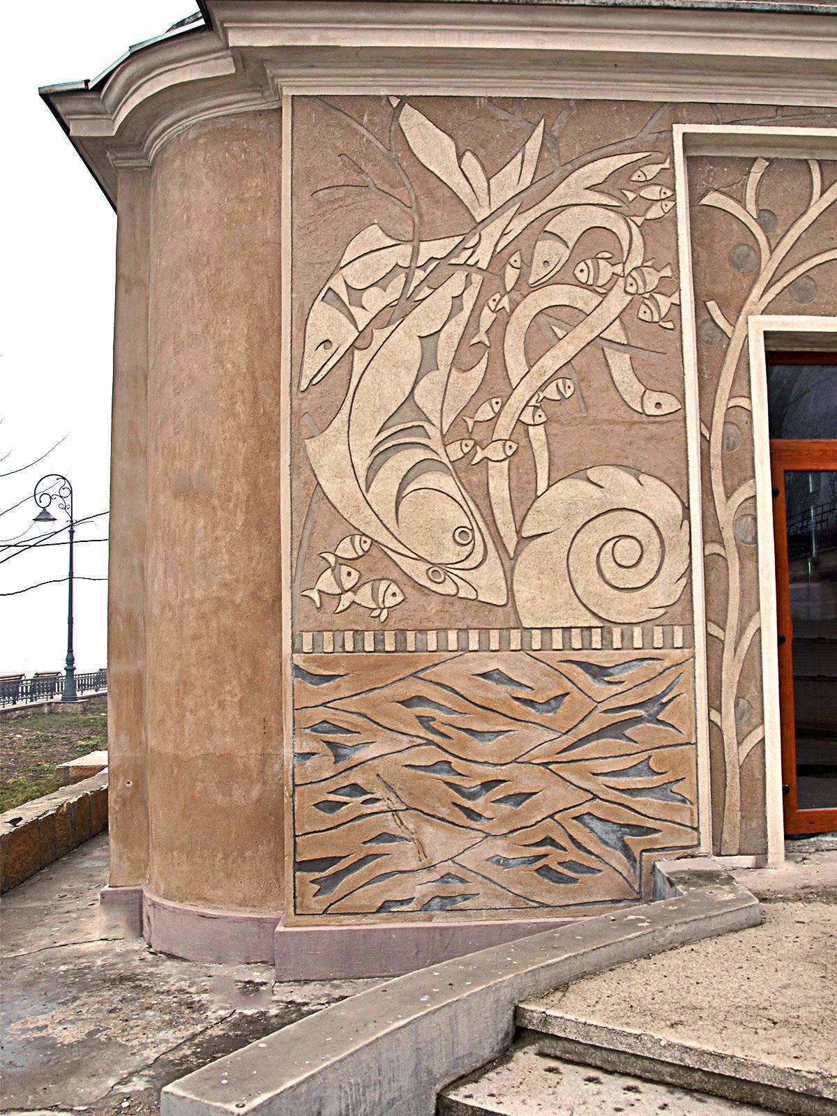 fatade case trafor, termosistem decorativ, profile decorative polistiren
