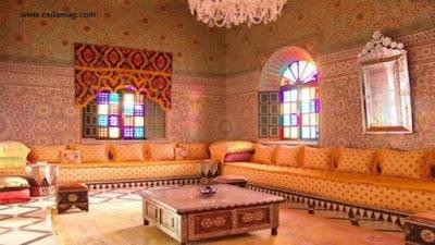 صور ديكور ديكورات مجالس و صالونات مغربية