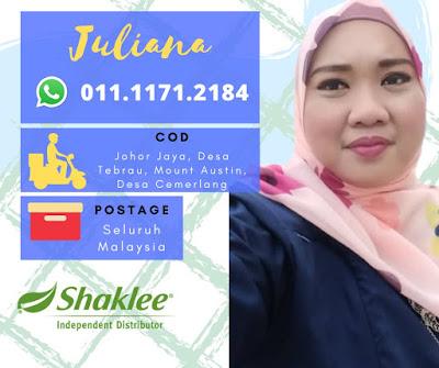 Pengedar Shaklee Desa Cemerlang Johor