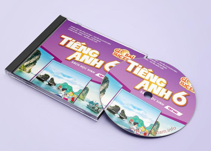 CD bài nghe Tiếng anh 6 - Global Success