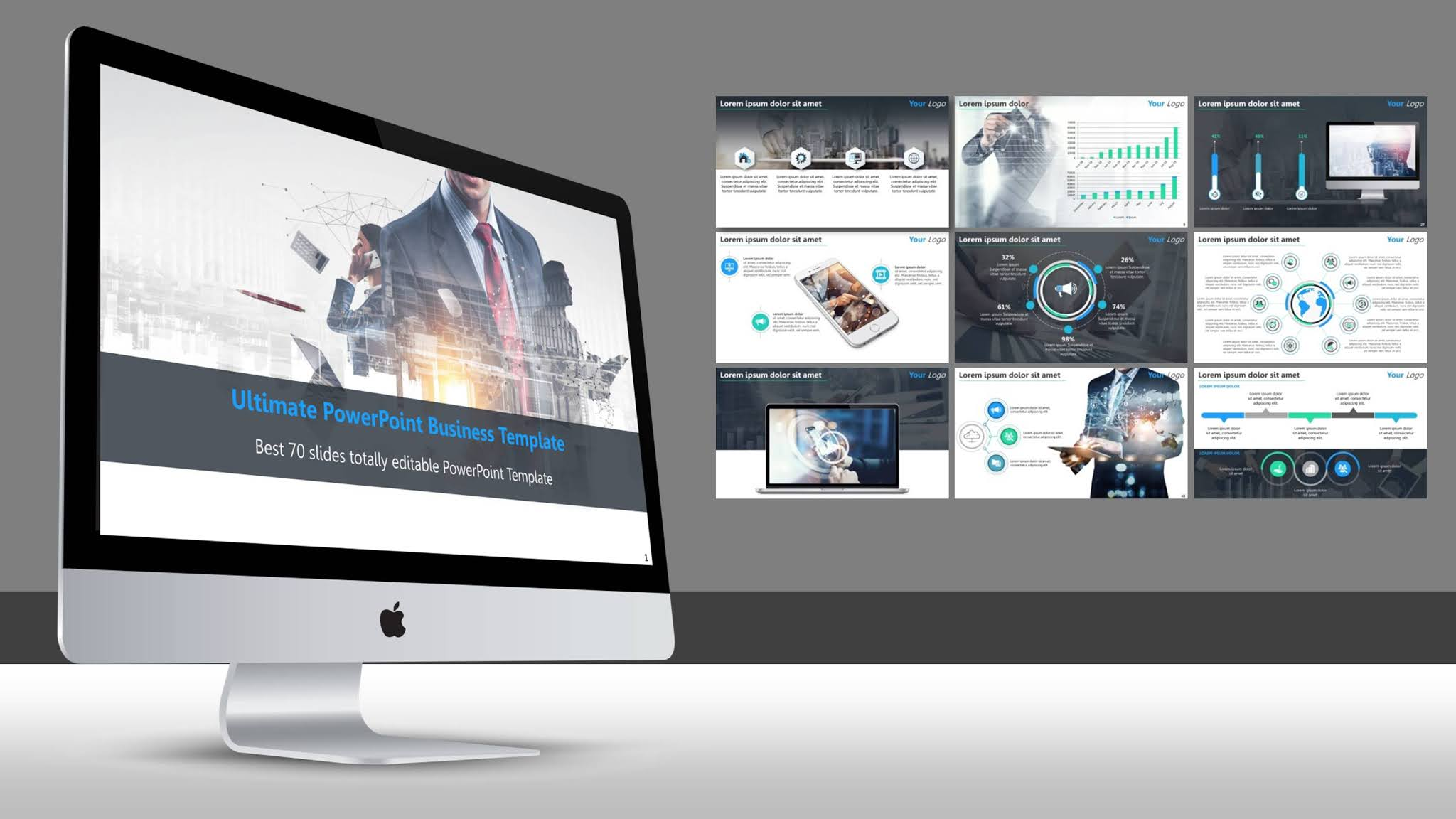 Best Professional PowerPoint Business Template