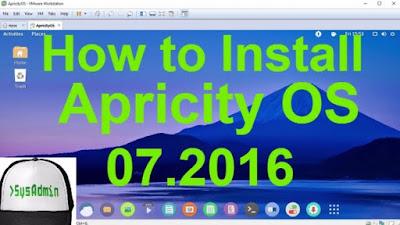 Apricity OS 07.2016 Aspen