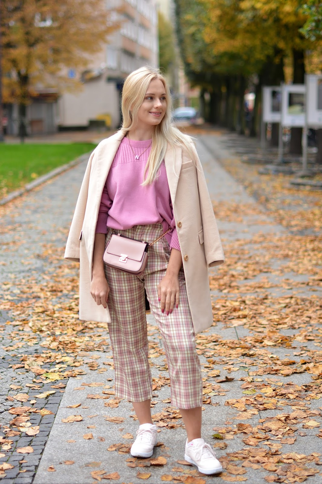 Pink Oversized Knit Jumper