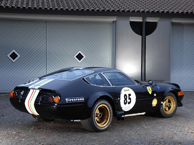 '70 Ferrari 365 GTB/4 Daytona Competizione ::  Flavien Dachet