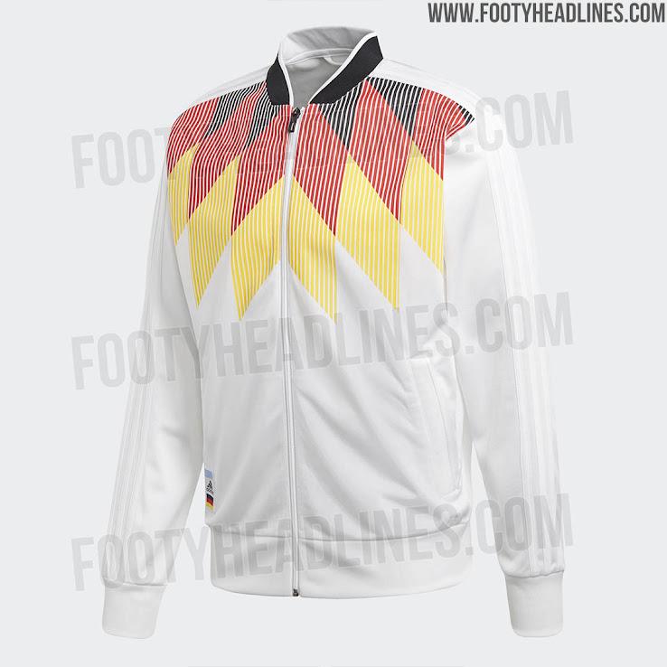Amazing Adidas Germany 2018 World Cup Jacket Leaked - Footy ... efd69f15c8