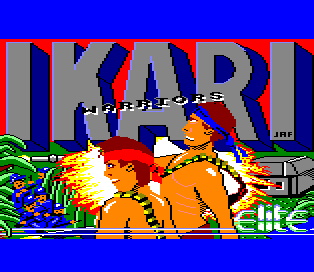 Tono Ikari Warriors Amstras CPC