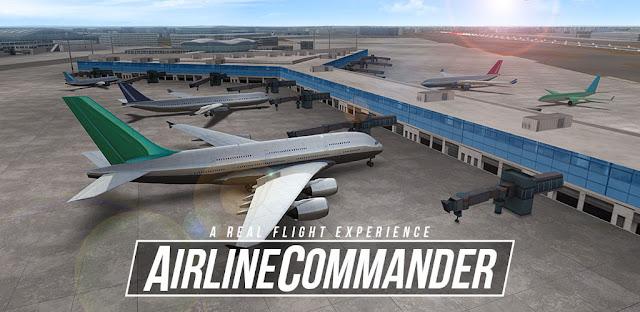 تحميل لعبة Airline Commander مهكرة للاندرويد اخر اصدار
