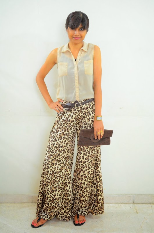 Of wide leg pants...