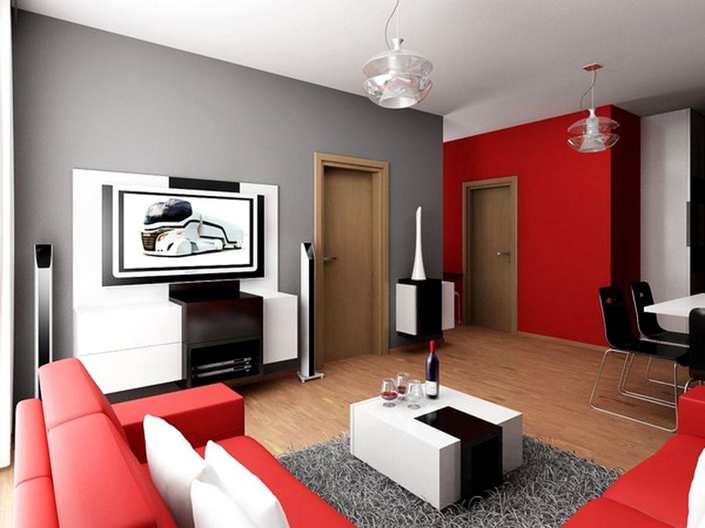 Warna Cat Interior Rumah Minimalis Modern Desain Rumah