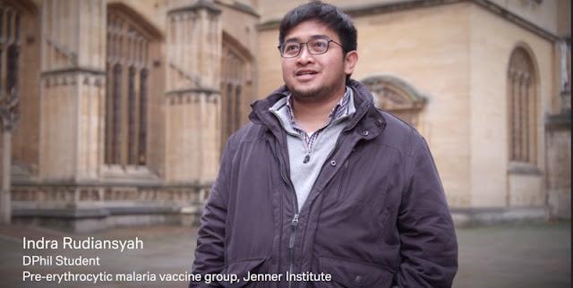 Indra Rudiansyah, Pemuda Indonesia Di Balik Pembuatan Vaksin Covid-19 AstraZeneca
