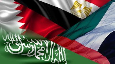 الدول المقاطعة لقطر
