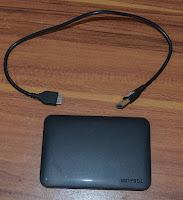 Hardisk External 1 tera USB 3.0