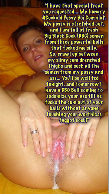 Hotwife Feeds Cuckold Special Cum Diet