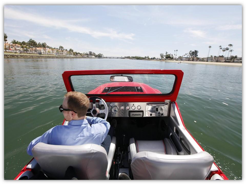 mobil amfibi watercar