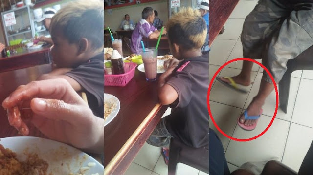 'Mama Sudah Meninggal dan  Papa Pergi Waktu Kami Tidur', Cara Anak-Anak ini Mengais Makanan Bikin Hati Terenyuh !!