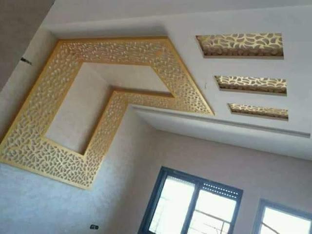 ديكور جبس غرفة نوم عرسان عصرية