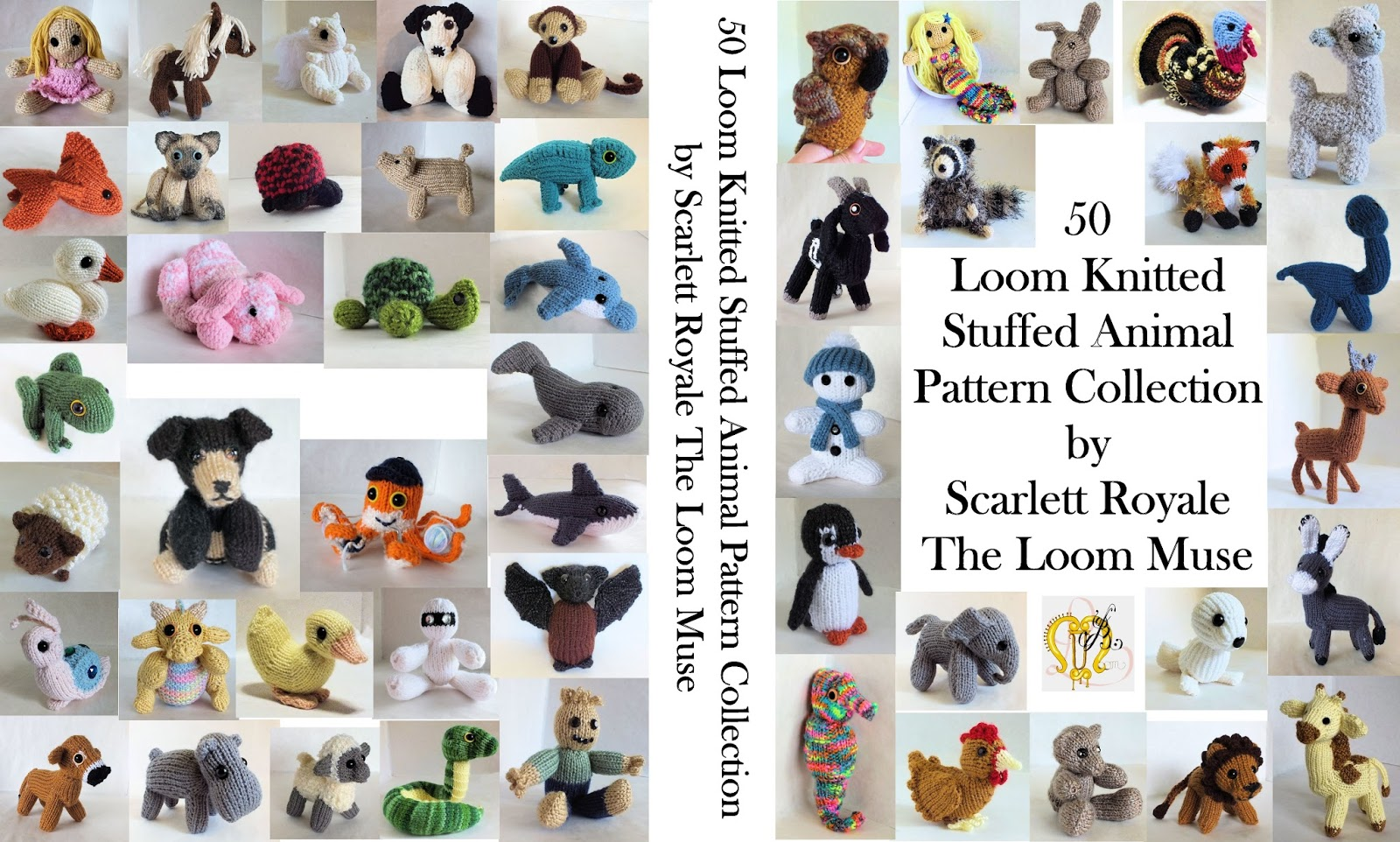 The Loom Muse 50 Loom Knitted Stuffed Animal Pattern
