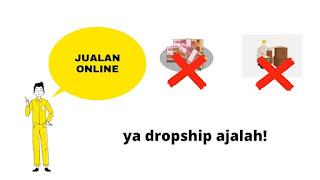 jualan online tanpa modal dan stok barang