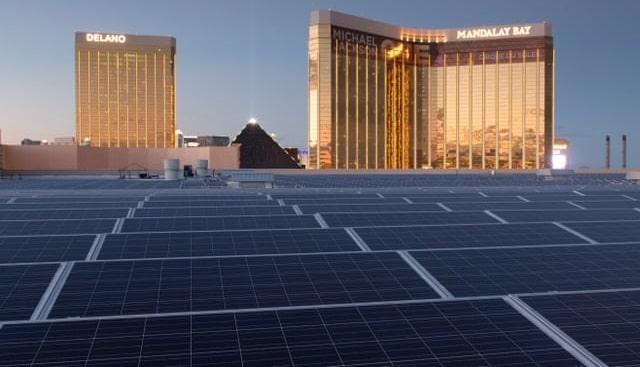 smart cities industrial heating las vegas casino solar panel energy