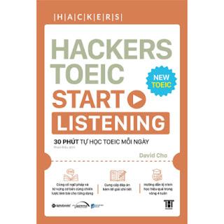 Hackers Toeic Start Listening (30 Phút Tự Học TOEIC Mỗi Ngày) ebook PDF EPUB AWZ3 PRC MOBI