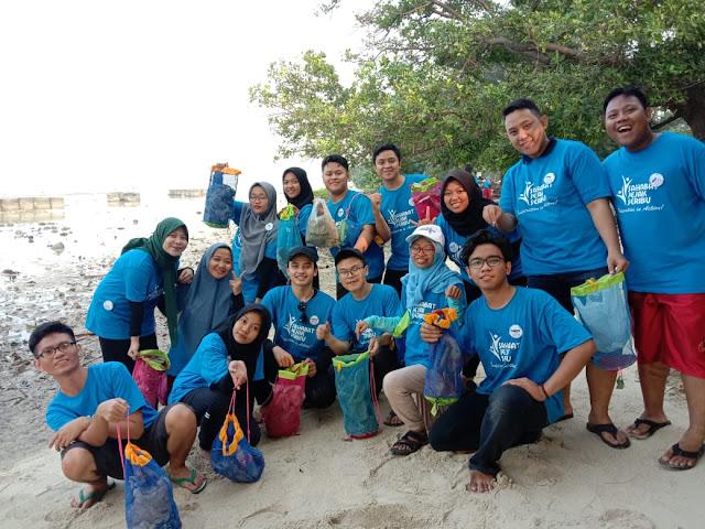 Belajar Menjaga Laut Jakarta di Jejak Seribu Youth Camp 2019