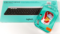 Castiga un kit de tastatura si mouse Logitech wireless
