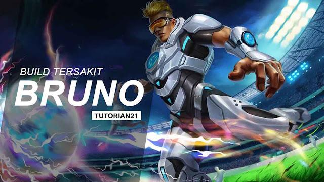Build Bruno Tersakit Mobile Legends