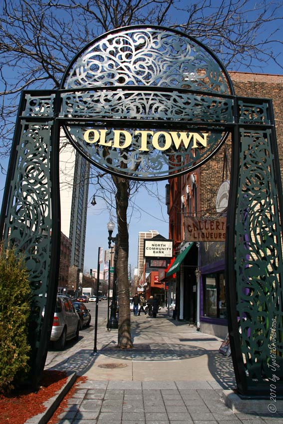 Chicago - Architecture & Cityscape: Old Town Triangle District |Old Town Chicago