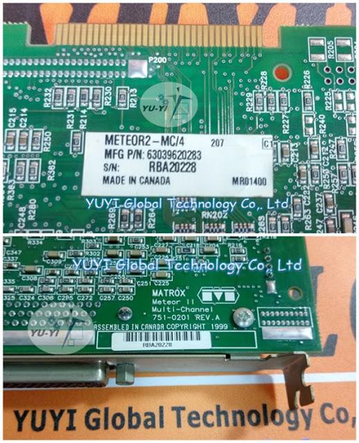 MATROX METEOR2-MC/4 Meter II Multi-channel 751-0201 REV.A
