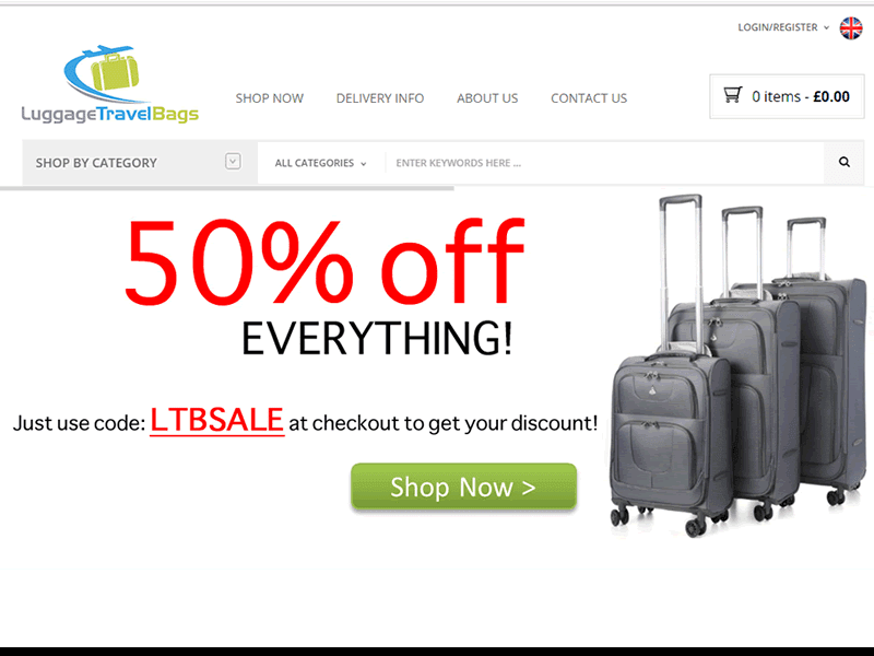 Luggage Travel Bags offers affordable and quality travel bags and luggage