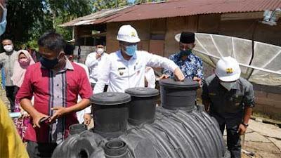 Wako Padang Sambut Baik Bantuan Sanitasi dari PUPR di Bungus Barat