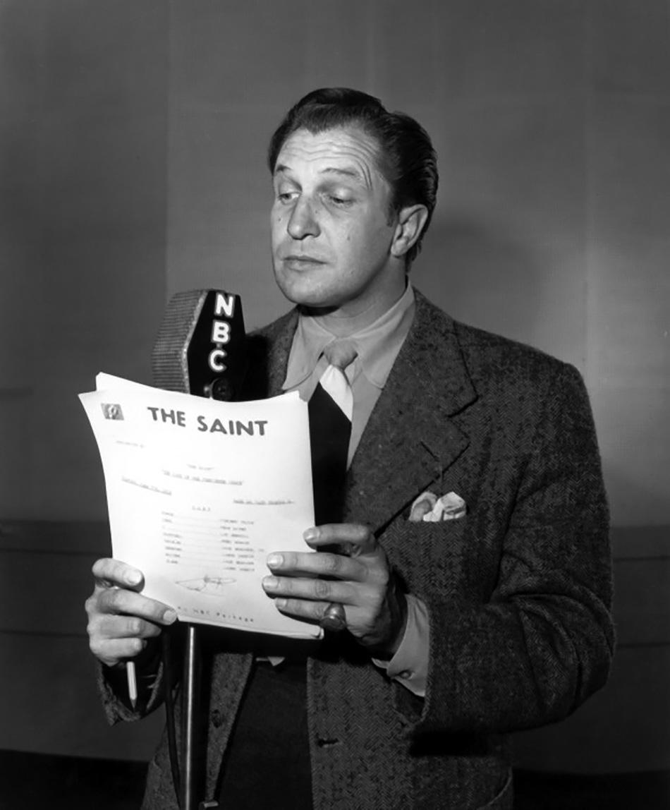 Old Radio: Edgar Barrier