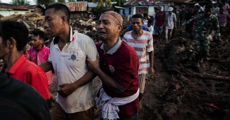 Paus Fransiskus Berdoa untuk Korban Banjir di Indonesia dan Timor Leste