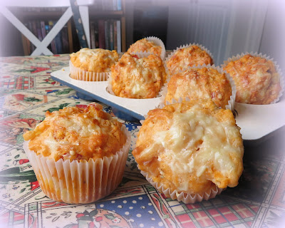 Small Batch Pizza Muffins