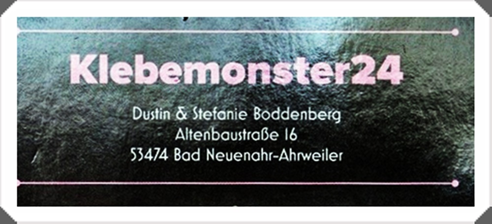 Klebemonster24 - Contactinformations