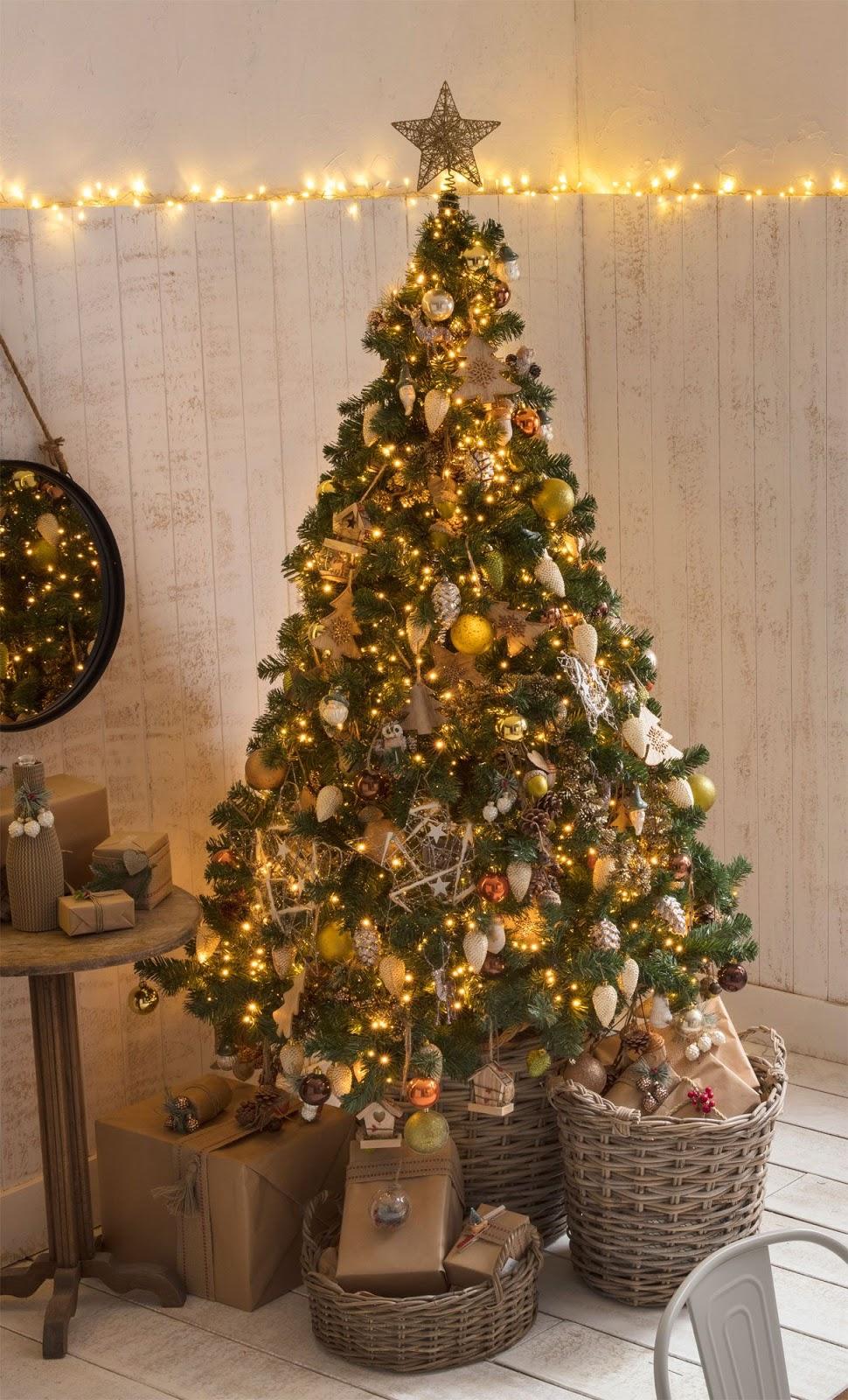 Marzua decoraci n navide a de estilo natural - Decoracion navidena natural ...
