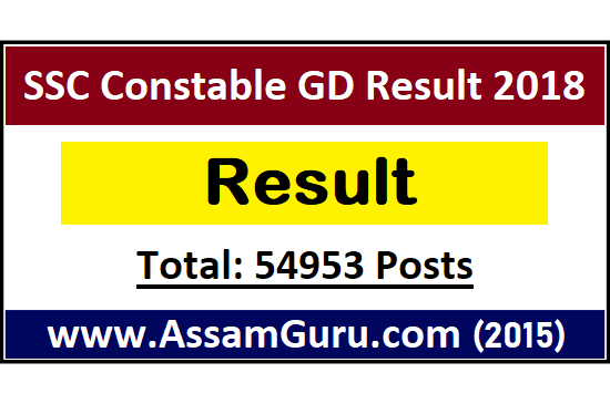 ssc-constable-gd-result-2018