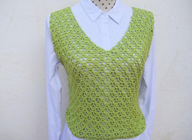1 - Imagen Crochet Blusa de mujer a crochet y ganchillo parte 1 por Majovel Crochet