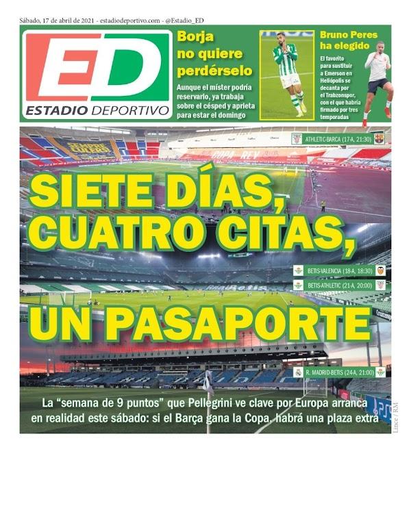 """Betis, Estadio Deportivo: """"Borja no quiere perdérselo"""""""