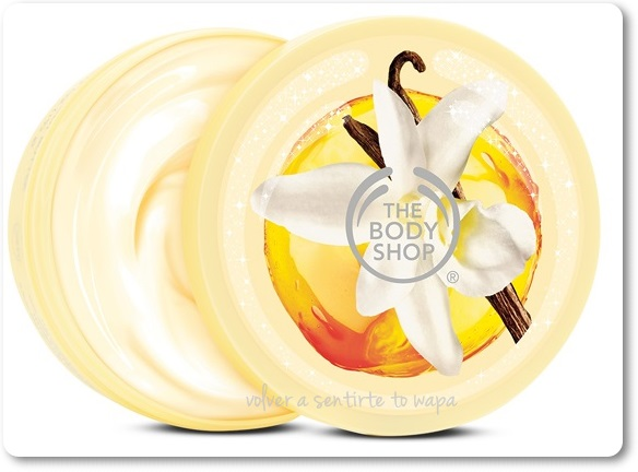 Manteca corporal de Vainilla de THE BODY SHOP