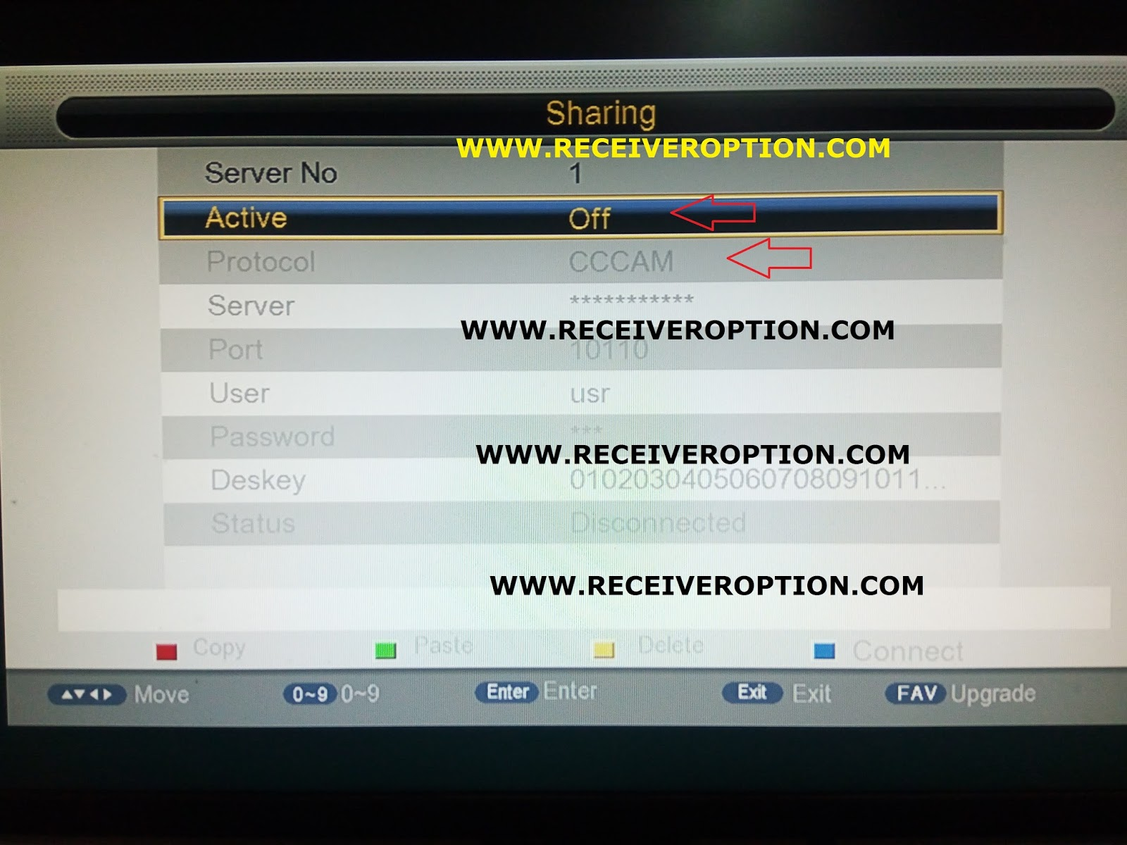 ECQLINK EI7000 HD RECEIVER BISS KEY OPTION ~ Dish TV Help Center