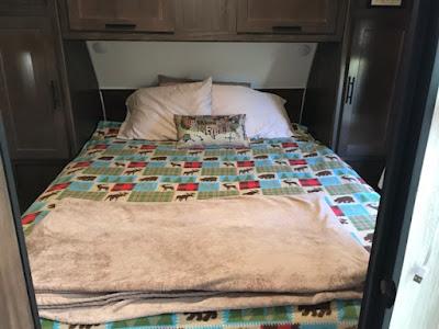 trailer bedding