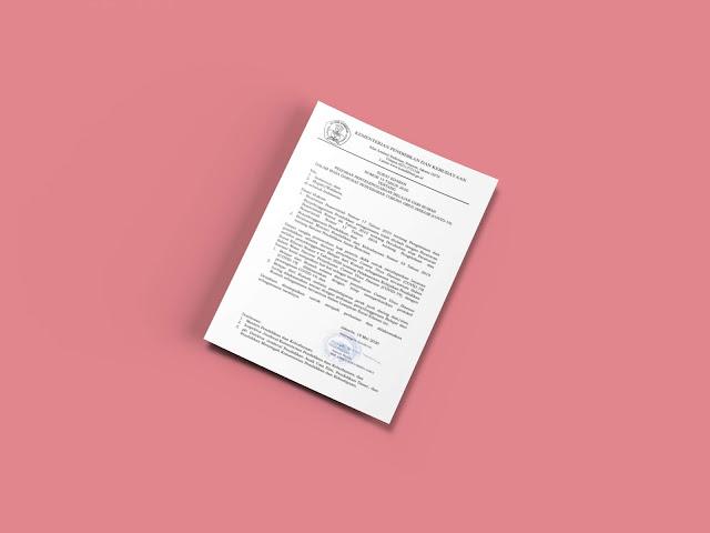 Surat Edaran Sekjen Kemendikbud Nomor 15 Tahun 2020