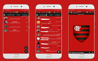 Flamengo 2 Theme For YOWhatsApp & Fouad WhatsApp By Leidiane